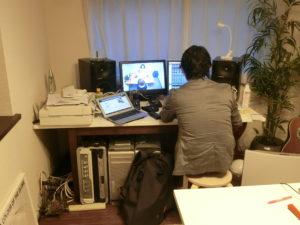 ラジオ収録 たちかわFM Greencafe
