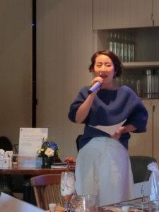 LLフェイスブラシ ラピスラズリ新製品発表会 Ayakoさん